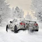 Nissan-GT-R-snow-drift-snijeg