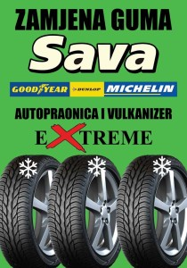 Zamjena guma autopraonici Extreme !!!