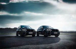 BMW X5 M i BMW X6 M u Black Fire izvedbi