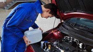 Obična voda u auto?