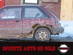 Operite auto od soli