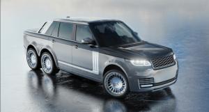 SLT Range Rover 6×6 pick-up, za sve kojima četiri kotača nije dovoljno!