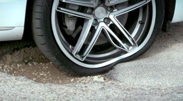 Savitljiva felga otporna na udarce i rupe na cestama