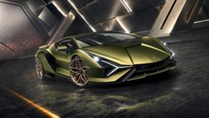 Lamborghini Sian je prvi Lambo na struju