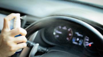 Koji je najbolji način za dezinficiranje vozila?