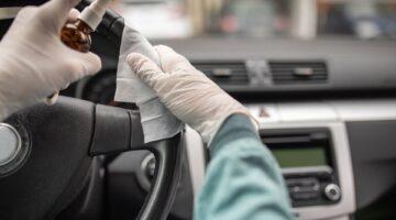 Kako ispravno dezinficirati unutrašnjost automobila?