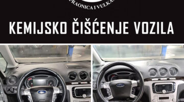 AKCIJA – Kemijsko čišćenje vozila