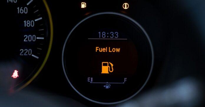 Koliko goriva ima u spremniku automobila kad se upali lampica rezerve?